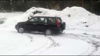 Honda CRV 2003 i-VTEC Winter Snow Offroad