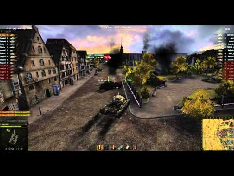 World of Tanks Gameplay: T30 Siegfried Line