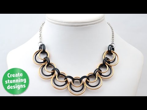 DIY Jewelry For Kids - Make Real, Metal Jewelry Faster Than You Think! Kids Crafts + Chainmaille!