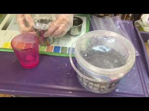 How To Clean Artist Oil brush buckets NO TOXINS (part 2) - Paint With Maz