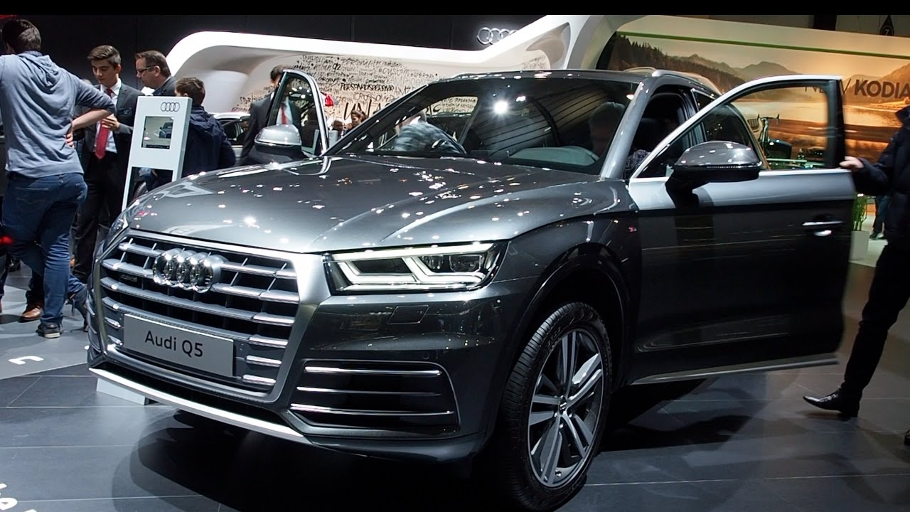 audi q5 2017 in detail review walkaround interior exterior. Black Bedroom Furniture Sets. Home Design Ideas