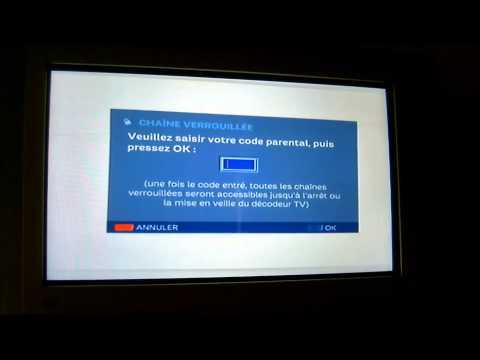 Hack Controle Parental Decodeur Tv