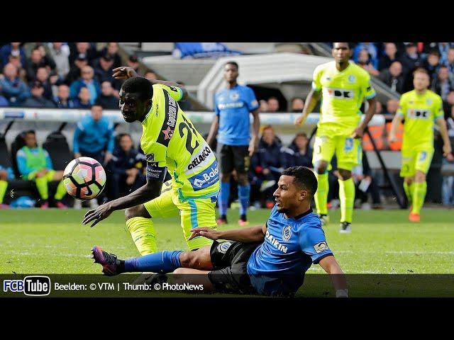 2016-2017 - Jupiler Pro League - 09. Club Brugge - AA Gent 1-0