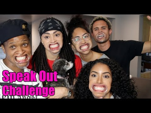 SPEAK OUT CHALLENGE!! (w/Shan Boody, Ava Pearl, Simone & Jared Brady)