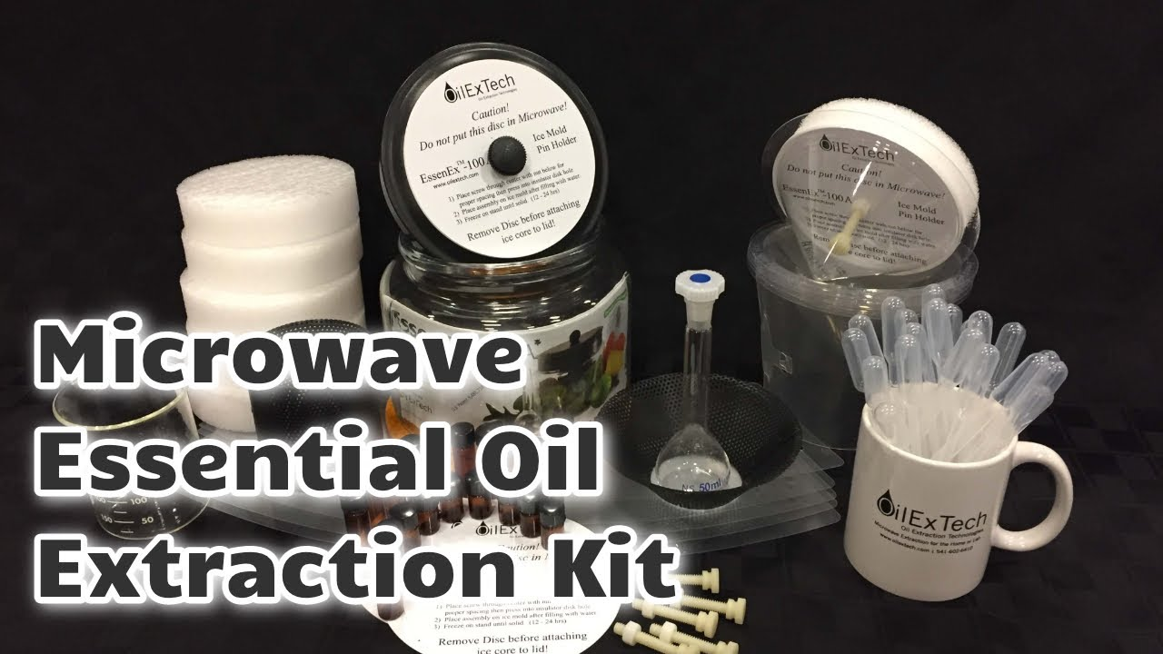 Essential Oil Extraction, Essential Oil Distillation Kits - OilExTech