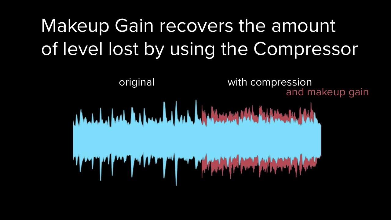 What is Compressor Makeup Gain? — Pro Audio Files