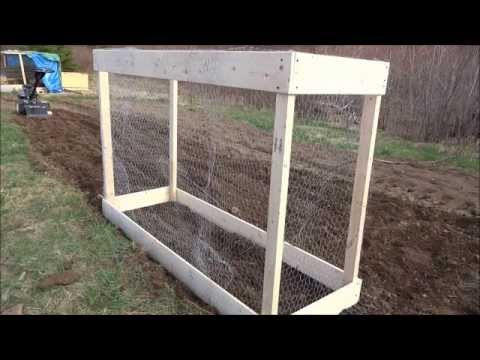 DIY Raised Garden Beds With Chicken Wire For Climbers Made On A Frugal  Budget