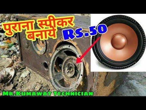 8 Inch Speaker Repair | स्पीकर रिपेयर