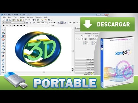 programa para hacer animaciones 3d con movimiento (logos, textos
