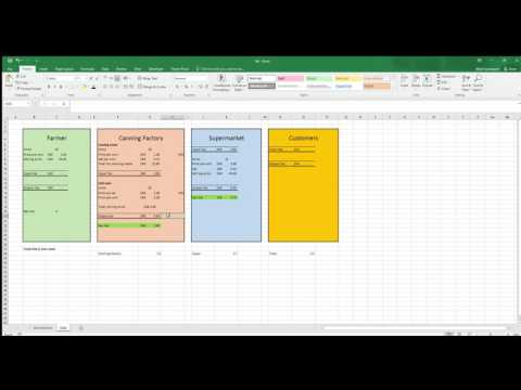 Excel - VAT (Value added tax in South Africa)