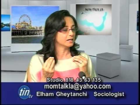 Iranian-American Mom & Sociologist Elham Gheytanchi on MomTalk LA
