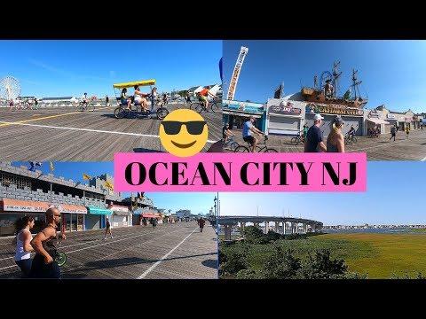 EXPLORING OCEAN CITY NJ BOARDWALK USING GoPRo HERO 7 BLACK