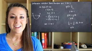 Determine whether a function is 1 to 1 (KristaKingMath) thumbnail