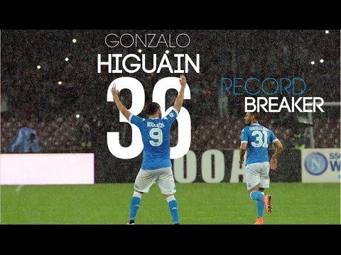 GONZALO HIGUAIN   All 36 Goals 2015/16   HD