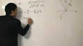 Vector Integral Calculus - Finding the Tangent Plane