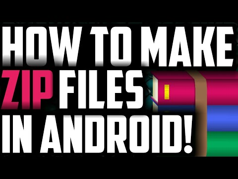 How To Make Zip File In Android | Create Rar File From Android In Hindi | You Need This!