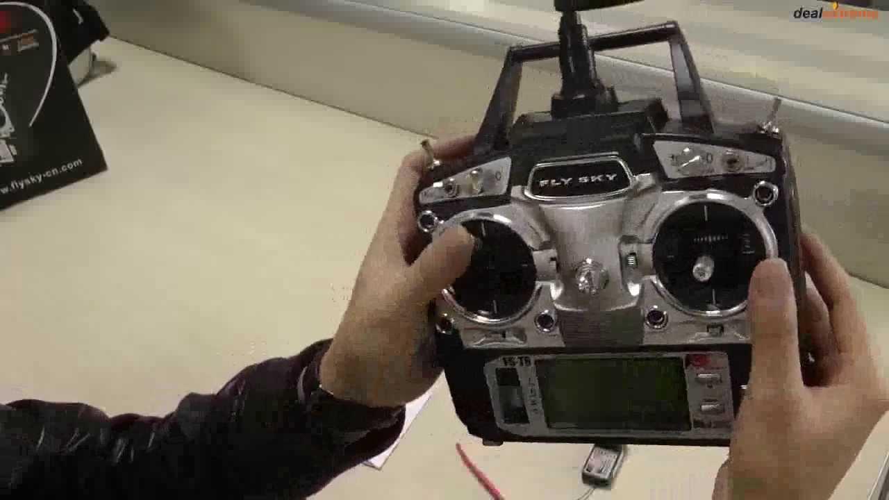 аппаратура радиоуправления fly sky ct6b инструкция