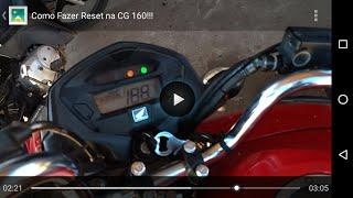 Veja Como Fazer Reset na CG 160!!!