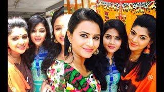 Vijay tv mappillai serial cute Tamil girls Shooting spot  Funny HD Videos