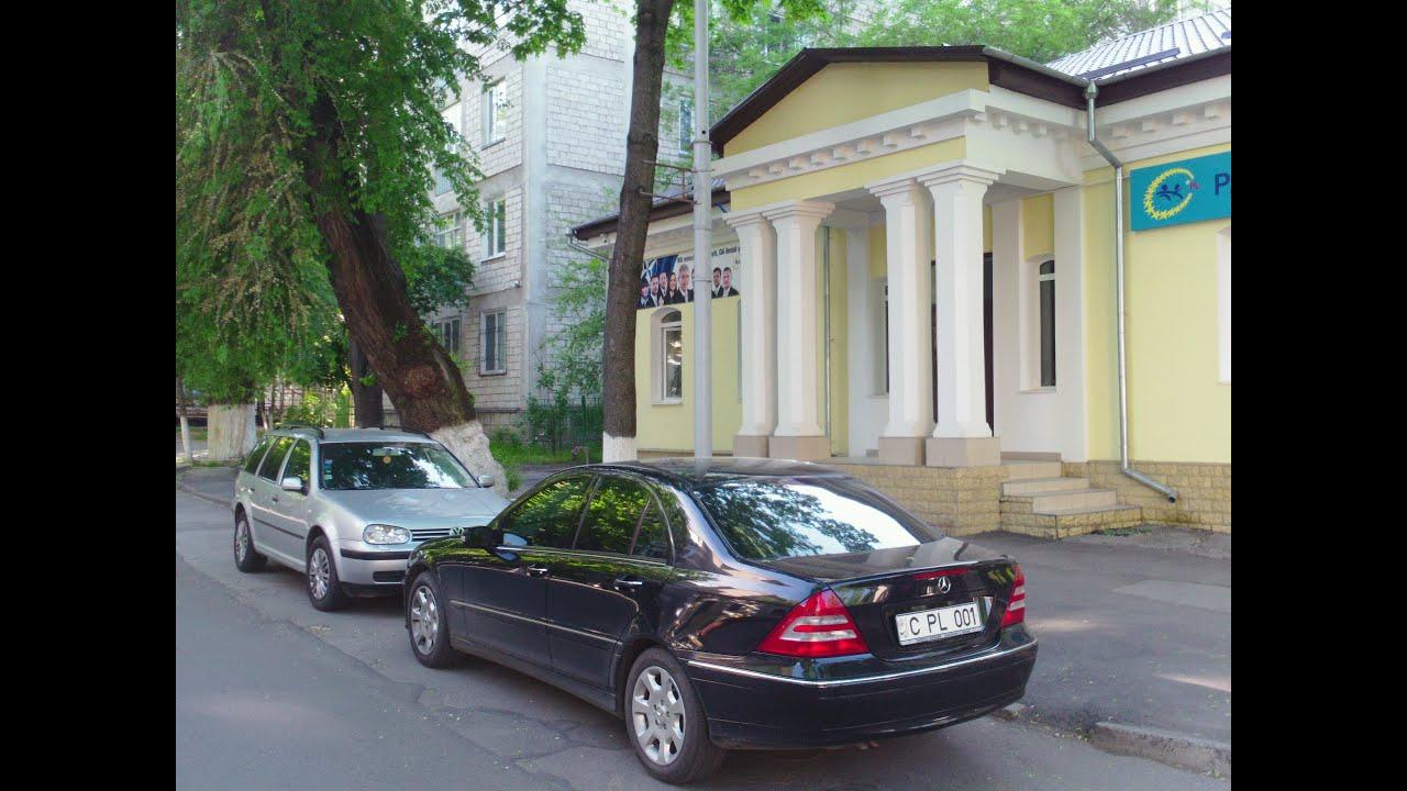 Mașina lui Ghimpu era parcată ilegal
