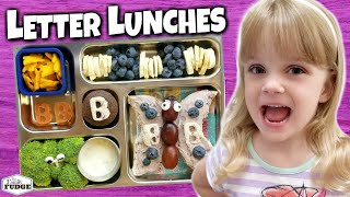 Kindergarten (Letter Of The Week) Lunches + ACTIVITIES 🍎 Bunches of Lunches