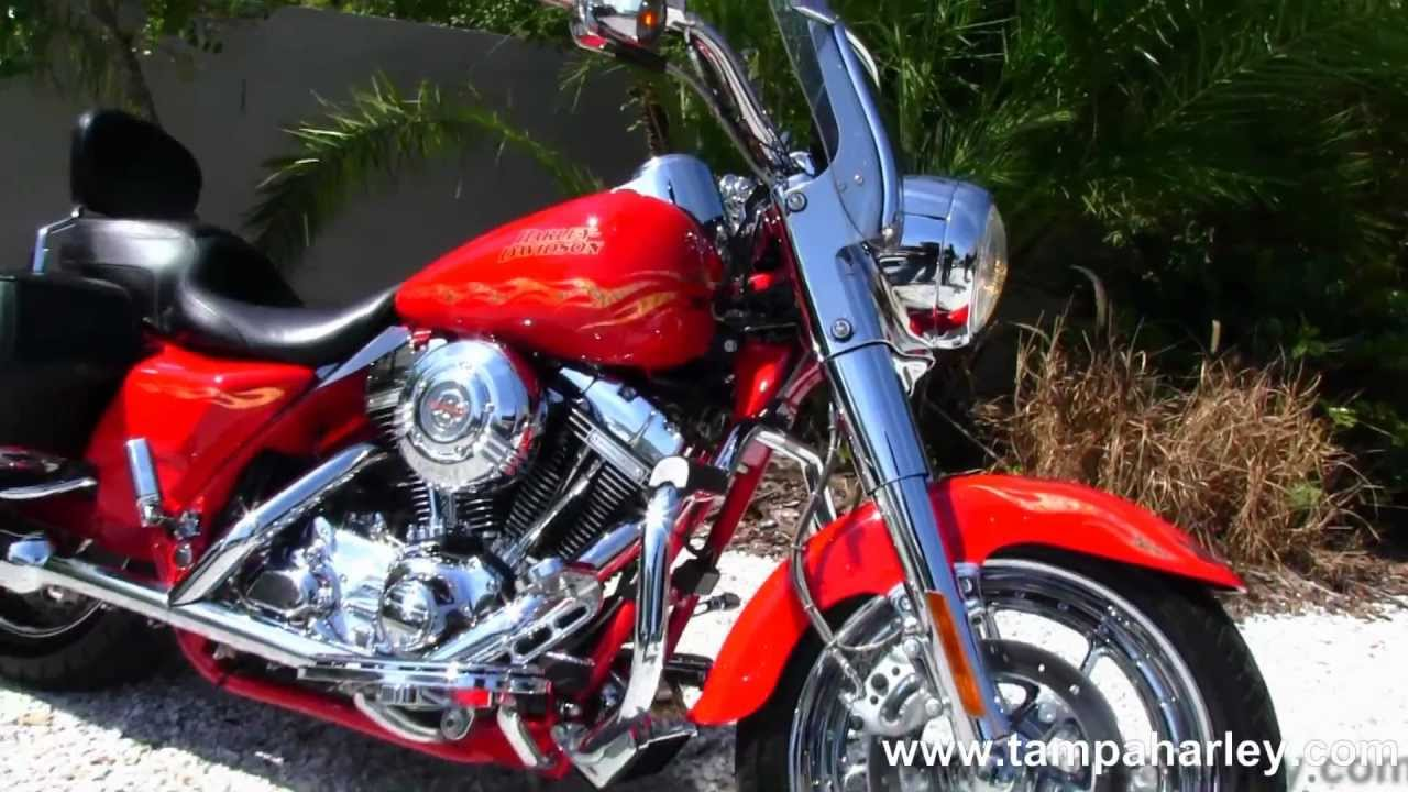 Used Cvo For Sale On >> Used 2007 Harley-Davidson FLHRSE CVO Road King Screamin' Eagle - YouTube
