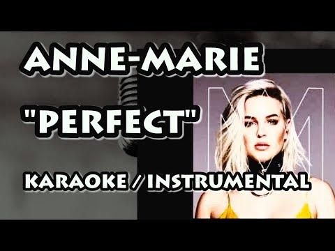 ANNE-MARIE - PERFECT (KARAOKE / INSTRUMENTAL)