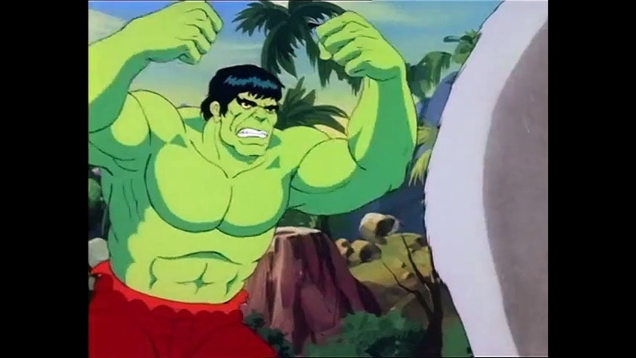 Video Masters Flashback Incredible Hulk Cartoon 1982 Youtube