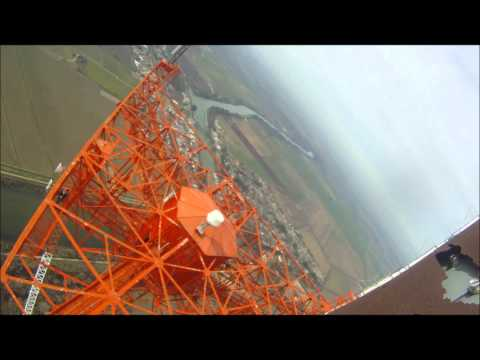 Stairway to Safety - Climbing to the top of a 1700 foot tall tower to change a light bulb