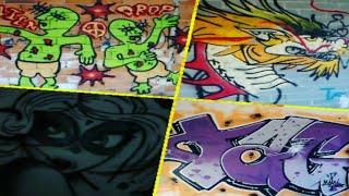VIENDO GRAFFITIS Y ENCUENTRO UNA HABITACIÓN AMUEBLADA