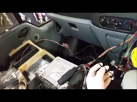 Ford Transit Parrot Kit Installation Guide