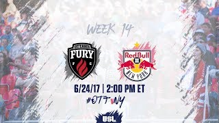 Ottawa Fury vs New York Red Bulls USL full match