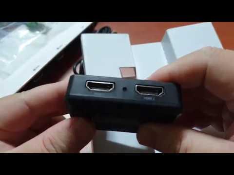 [스카이디지털] 슈퍼캐스트 U6T 2HD HDMI 캡처보드 + S122 스플리터 박스 개봉