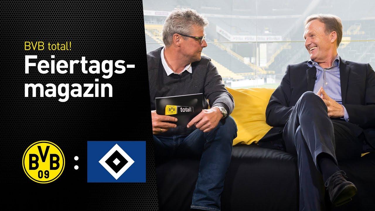 Das Feiertagsmagazin mit Hans-Joachim Watzke | BVB - Hamburger SV