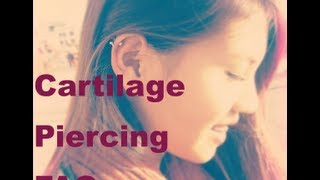 Cartilage Piercing FAQs