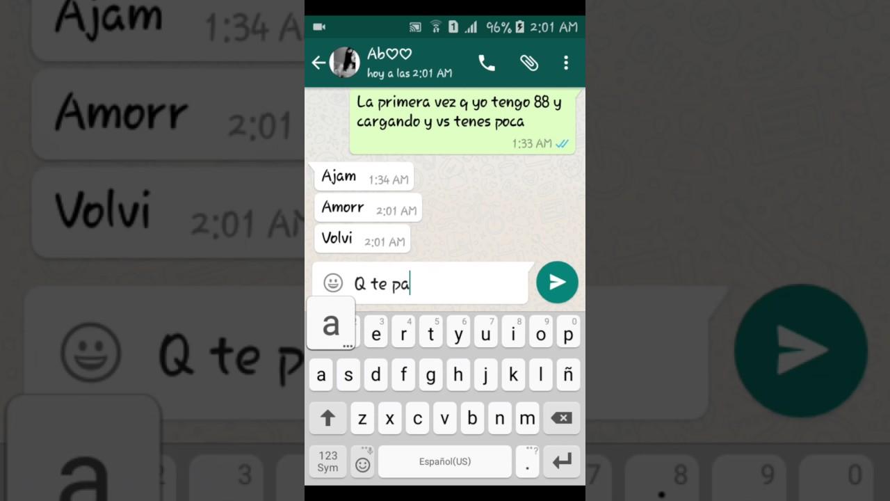 Broma Por Whatsapp Termina Mal Luu Agos Fran Y Luu Youtube