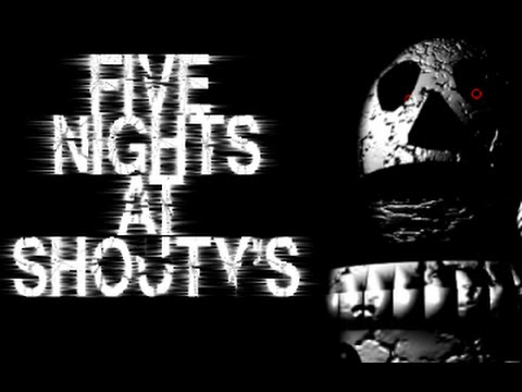 Five Nights at Shouty's - FanGame Trailer (Por Shoutmon24674)