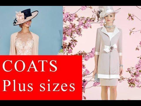 b82827068c0 Designers for plus size long coats include  – Ann Balon – Cabotine – John  Charles – Dressed up – Veni Infantino (for Ronald Joyce)
