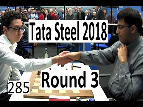 Tata Steel 2018 Round 3: Masterclass from Anand & Carlsen sends a Tweet!