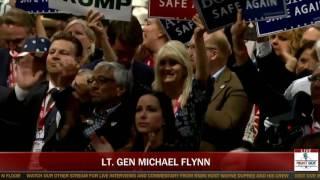 Lt. Gen Michael Flynn Full EXPLOSIVE Speech at Republican National Convention (7-18-16)