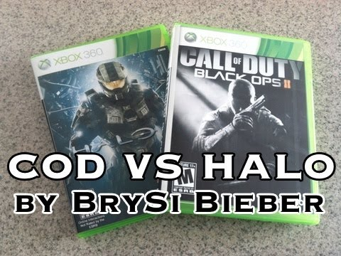 SONG:  Black Ops 2 vs Halo 4 - by BrySi Bieber (Parody)