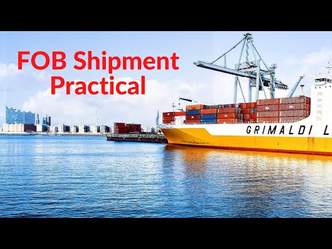 FOB Shipment Practical in Urdu / Hindi