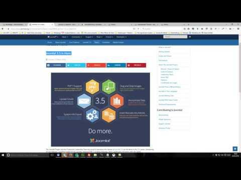 Tutorial: Joomla 3.6 - Grundlagen: 1.1 – Der Blick ins Backend