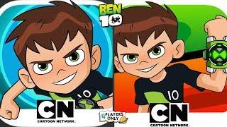 Ben 10: Up to Speed VS Ben 10 Heroes By Cartoon Network