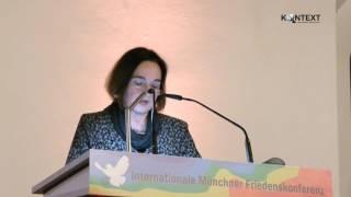 Daniela Dahn: Kooperation oder Konfrontation mit Russland? - Münchner Friedenskonferenz