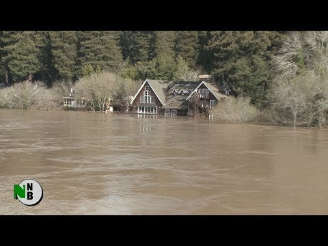 Monte Rio Emerges from Flood