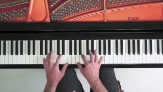 Auld Lang Syne PIANO (jazz-feel) FREE SHEET MUSIC + MP3 + Copy-Hands Tutorial