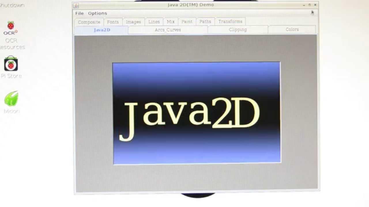 Run Java Se 8 For Arm Demo On Raspberry Pi Hdmi Output Youtube Wiringpi Odroid C1