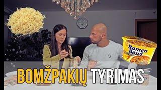 SVEIKIAUSIO BOMŽPAKIO TYRIMAS