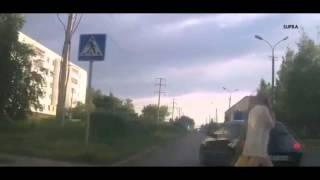 Беспредел на дороге , г. Елабуга 2015
